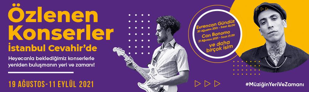 Özlenen Konserler İstanbul Cevahir'de