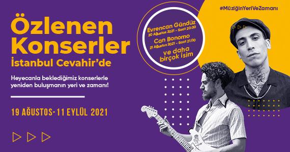 Özlenen Konserler İstanbul Cevahir
